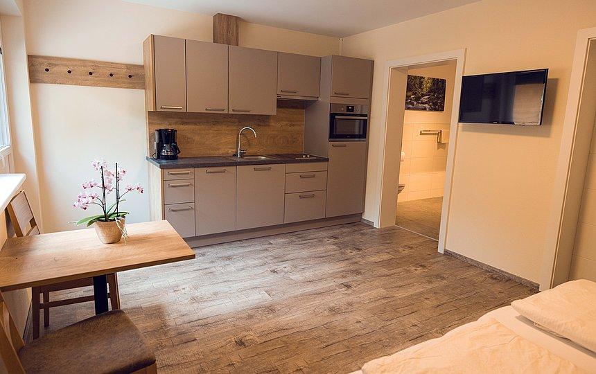 Studio Apartment mit 50 m² für 2 Personen
